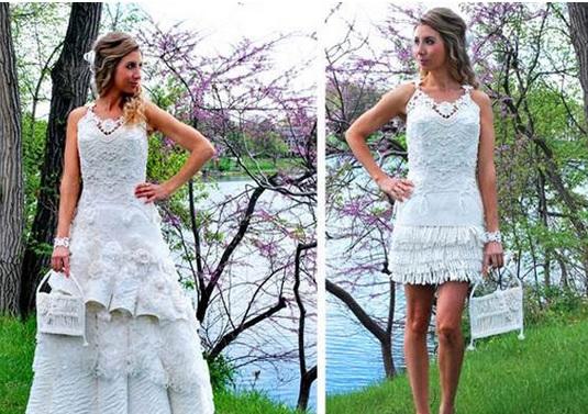 PapelHigienico Concurso dá R$ 22 mil para melhor vestido de papel higiênico